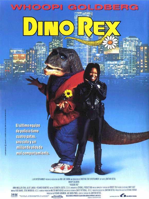 Theodore Rex: huge flop. Dino Rex? Top box-office smash