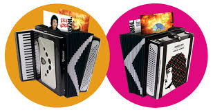 The Squeeze Box in accordion case