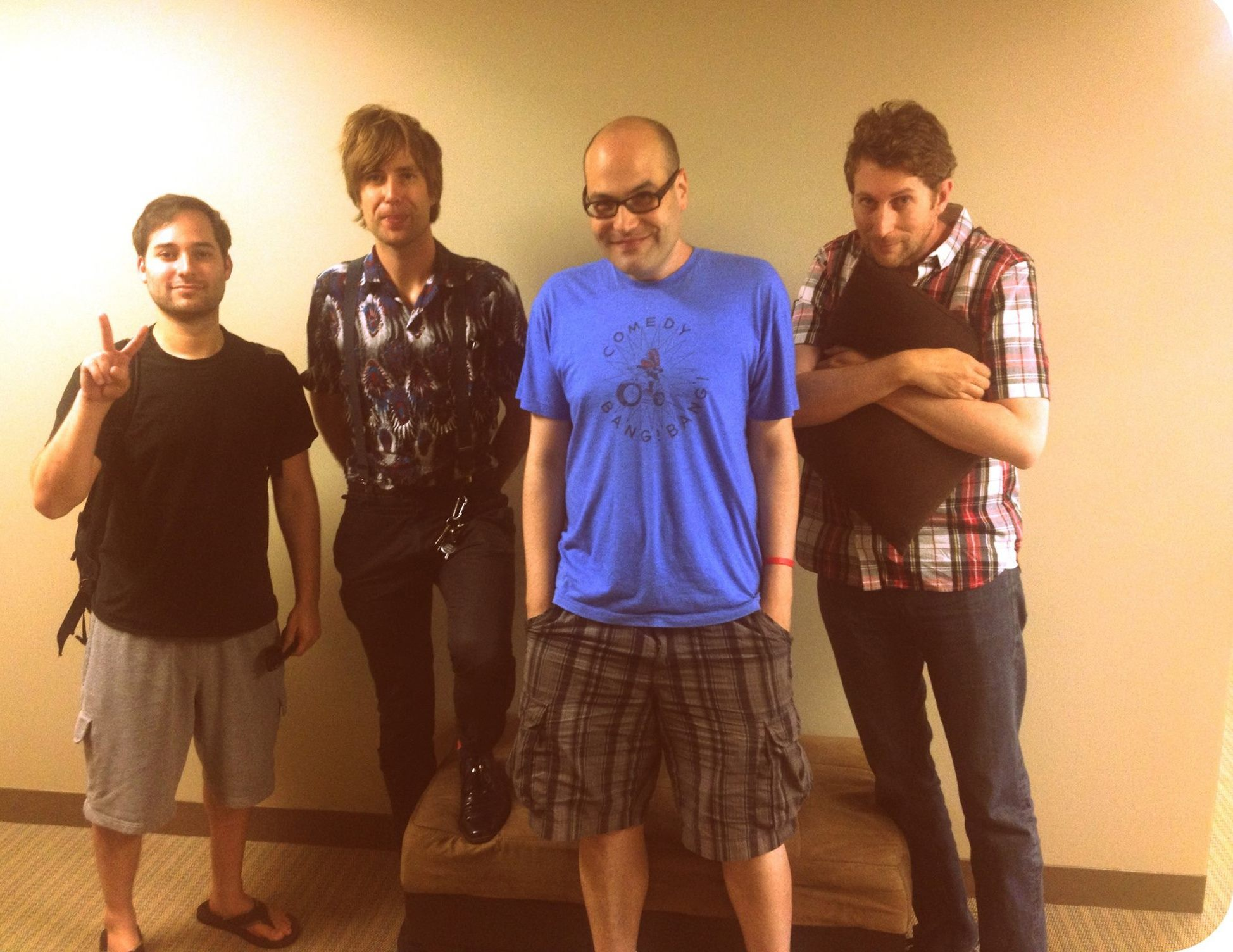 Harris, the dude from Islands, some podcast nerd, Scott Aukerman