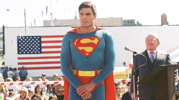 "My speech today is entitled ""What being Superman means to me"""