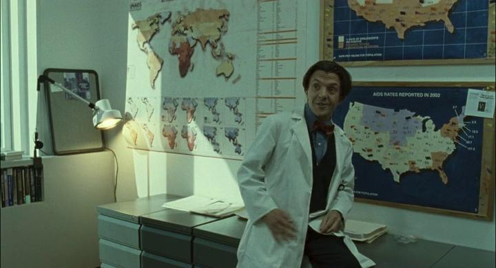 He's Gump, he's Gump, he's Gump, what kind of scientific formulas and corporate secrets are in his head?