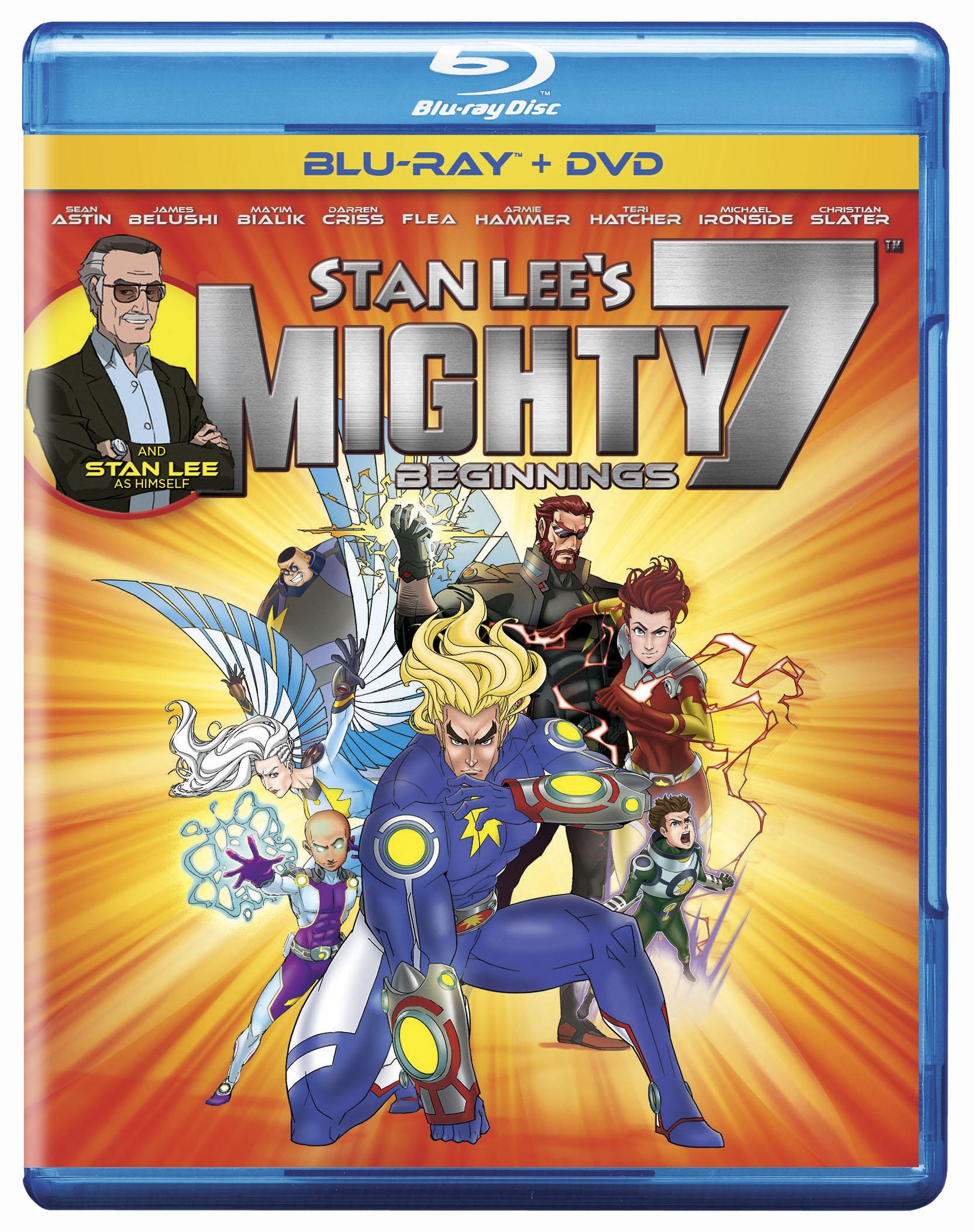 Stan Lee's Mighty 7: Beginnings doubled as Stan Lee's Mighty 7 Ending