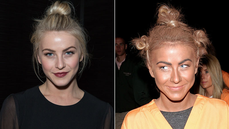 The only person who can pull off blackface is Jullianne Hough, and Billy Crystal on occasion.