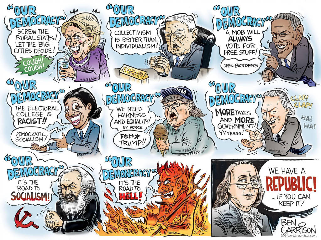 Gotta love the proudly anti-Democratic Ben Garrison