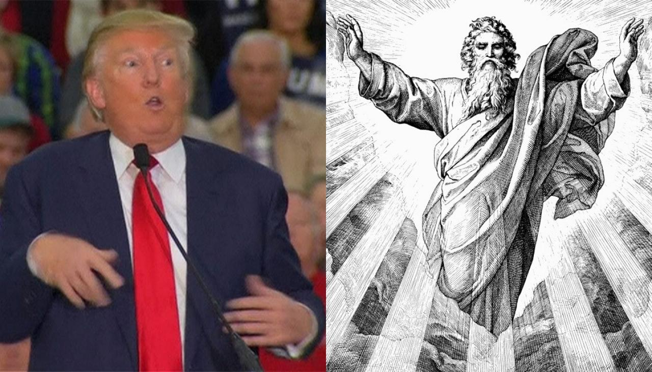 The guy on the left is who God supposedly hand-chose