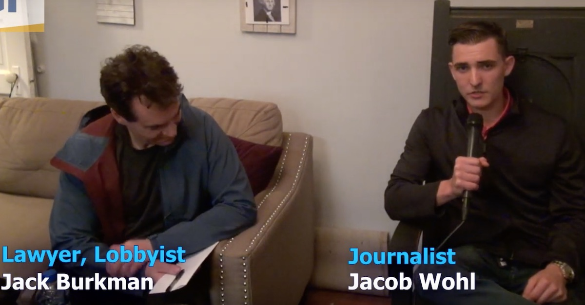 """They forgot the quotation marks around """"Journalist"""""""