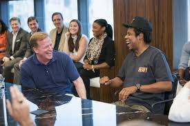 They have fun! Forget money and power: Jay-Z is clearly in it for the LAFFS!