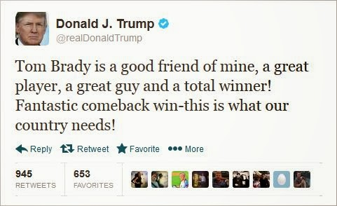 We get it! You like Tom Brady!