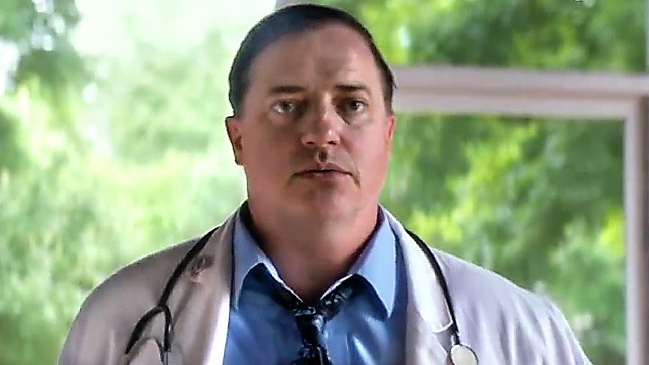 Wait until you get a load of what Encino Man super-hunk Brendan Fraser looks like now!