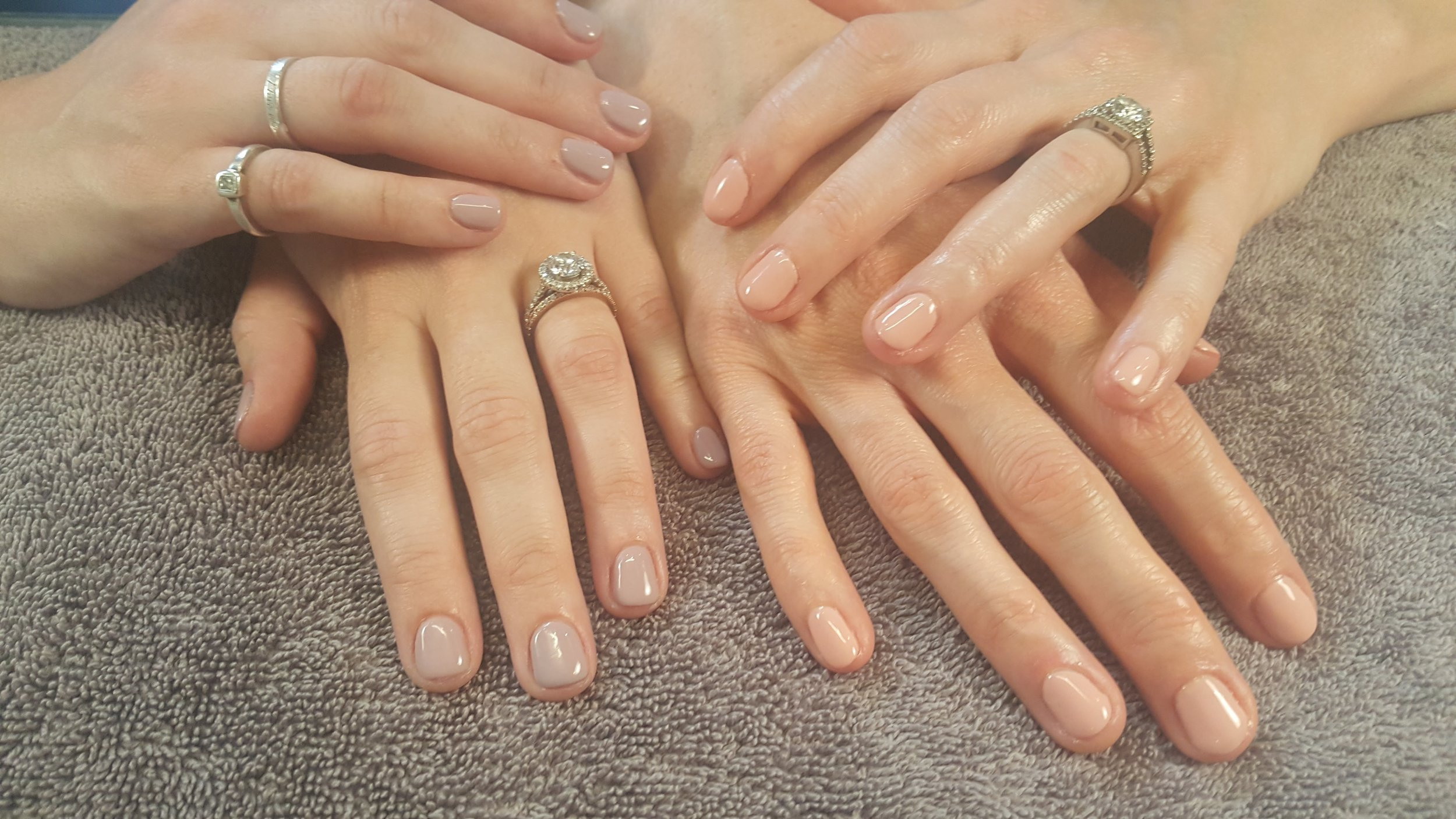 Wedding Nails, Brides, Dazzle Dry, Bridal Nails, Bride, Mani, Wedding Mani, Perfect Pink Nails, Nude Mani, Pastel Pink, Perfect Mani, Best in Bend, Oregon