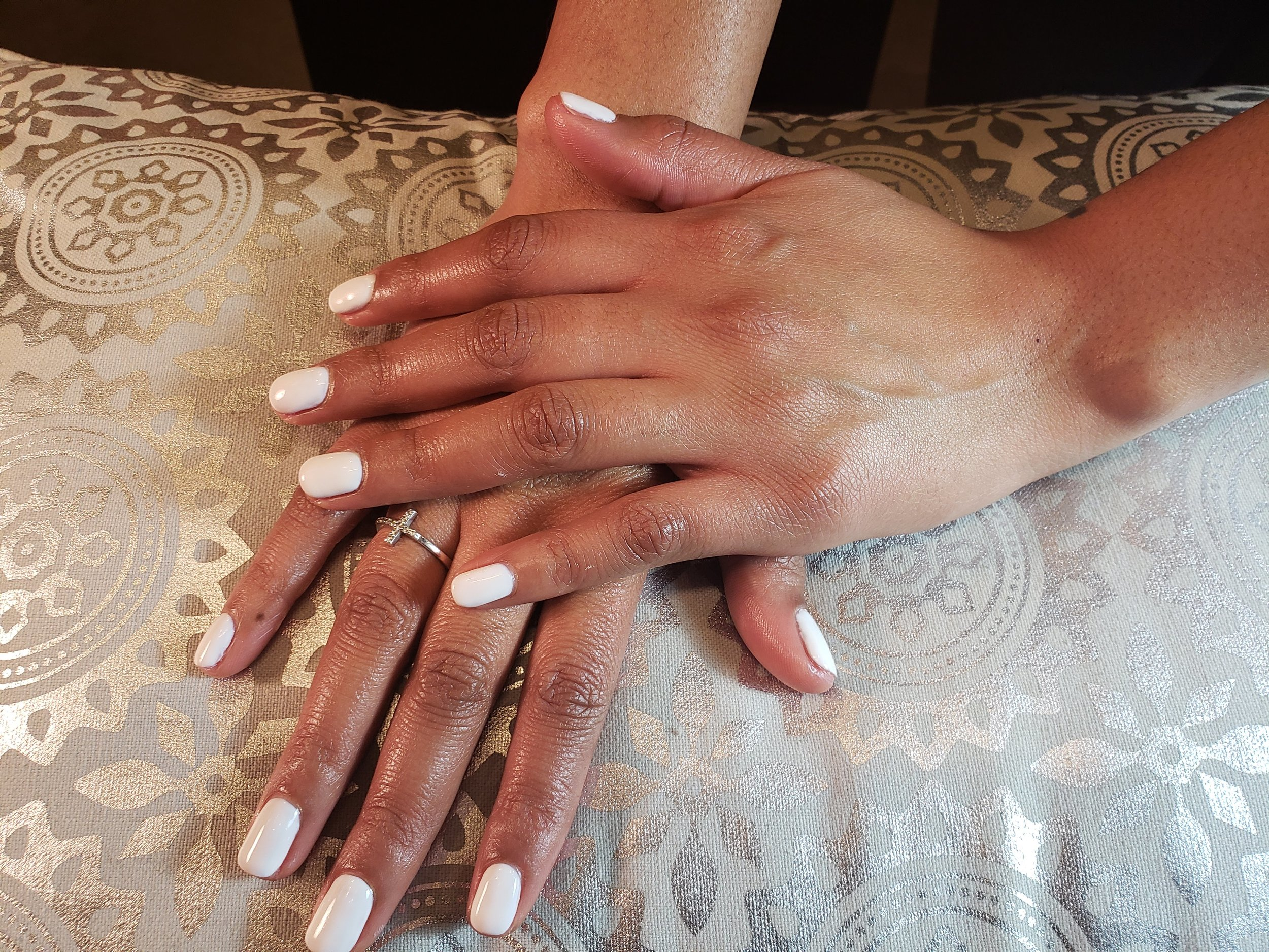 Nude Mani, White Mani, Perfect Nails, Bridal Nails, Wedding Nails, Pastel, Nails,