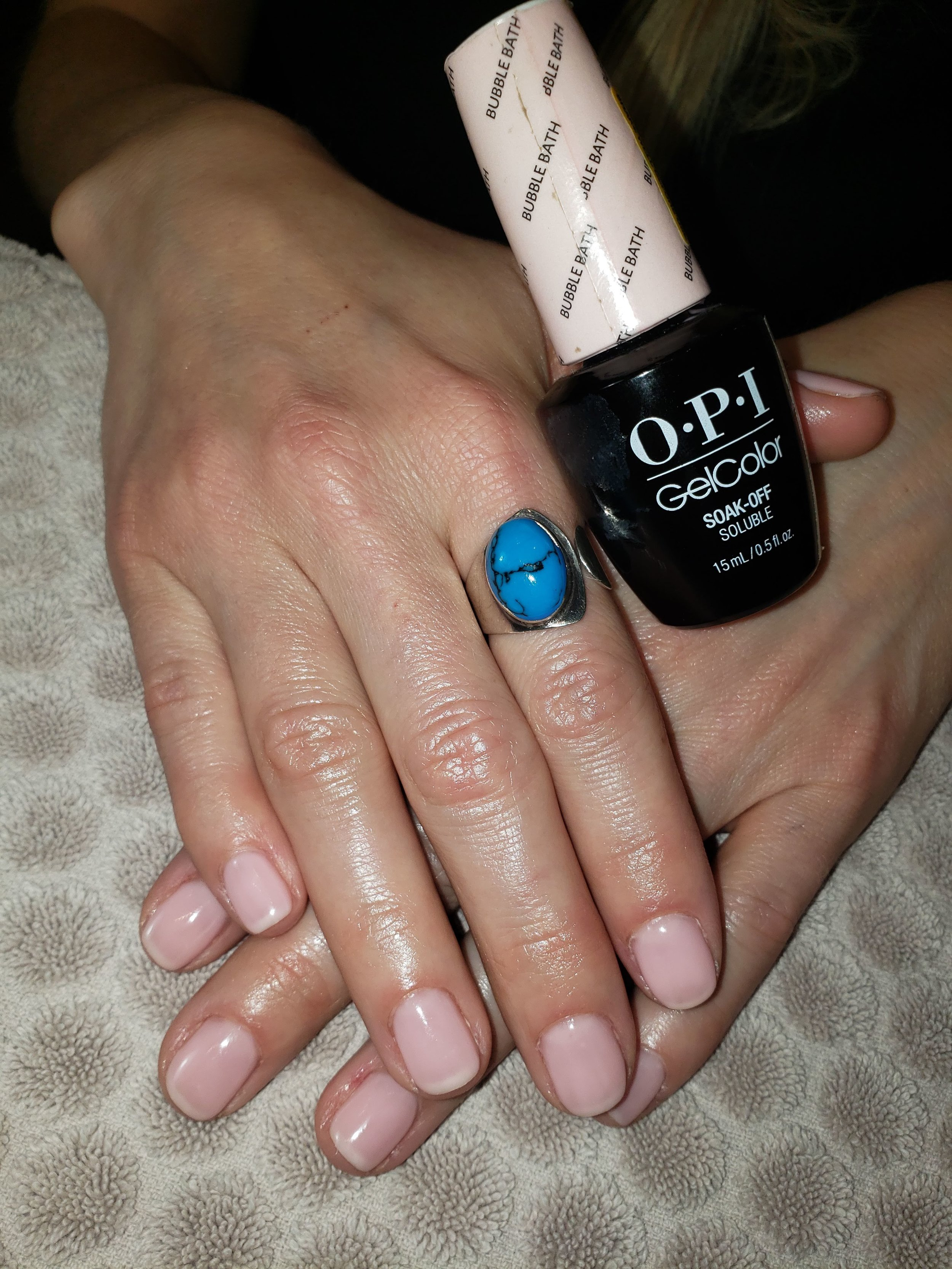 OPI, Gel Nails, Nude Mani, Natural Nails, Bridal Nails, Bride, Mani, Wedding Mani, Perfect Pink Nails, Nude Mani, Pastel Pink, Perfect Mani, Best in Bend, Oregon