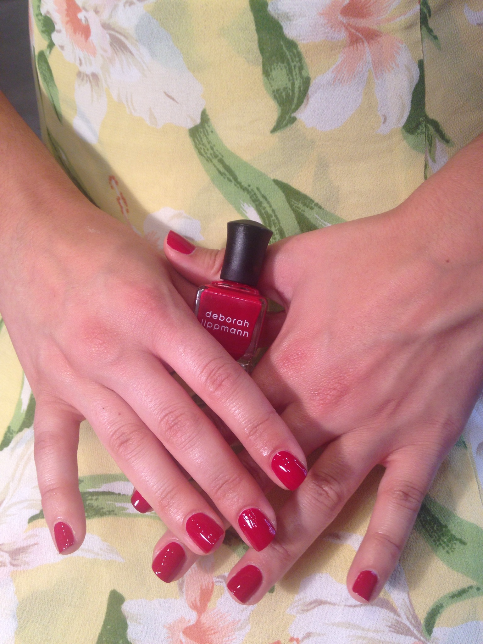 Deborah Lippmann, Red Nails, Perfect Red, Perfect Red Mani, Red Manicure, Perfect Manicure, Best of Bend, Voted Best in Bend, Oregon, Best Manicure,