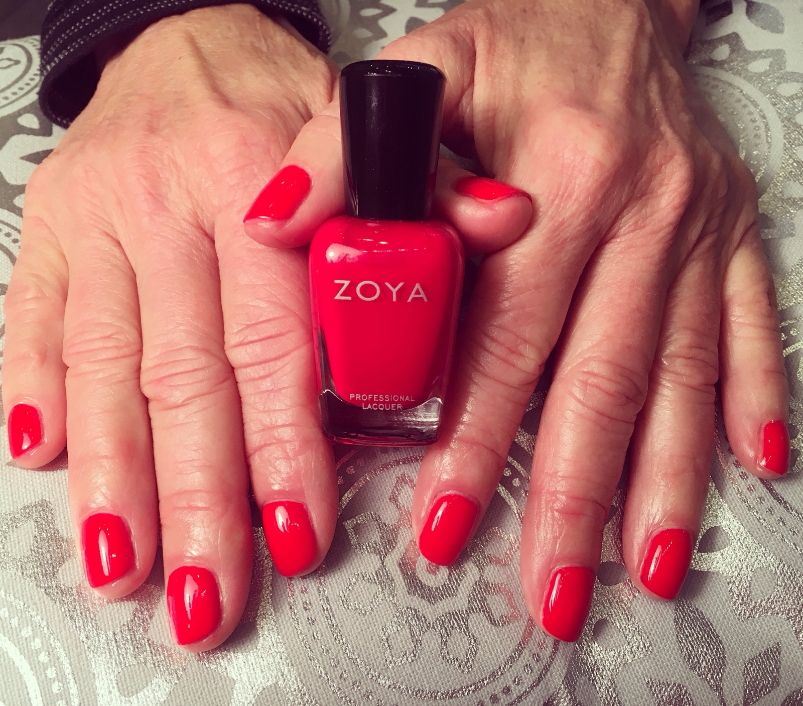 Zoya, Red Nails, Perfect Red, Perfect Red Mani, Red Manicure, Perfect Manicure, Best of Bend, Voted Best in Bend, Oregon, Best Manicure,