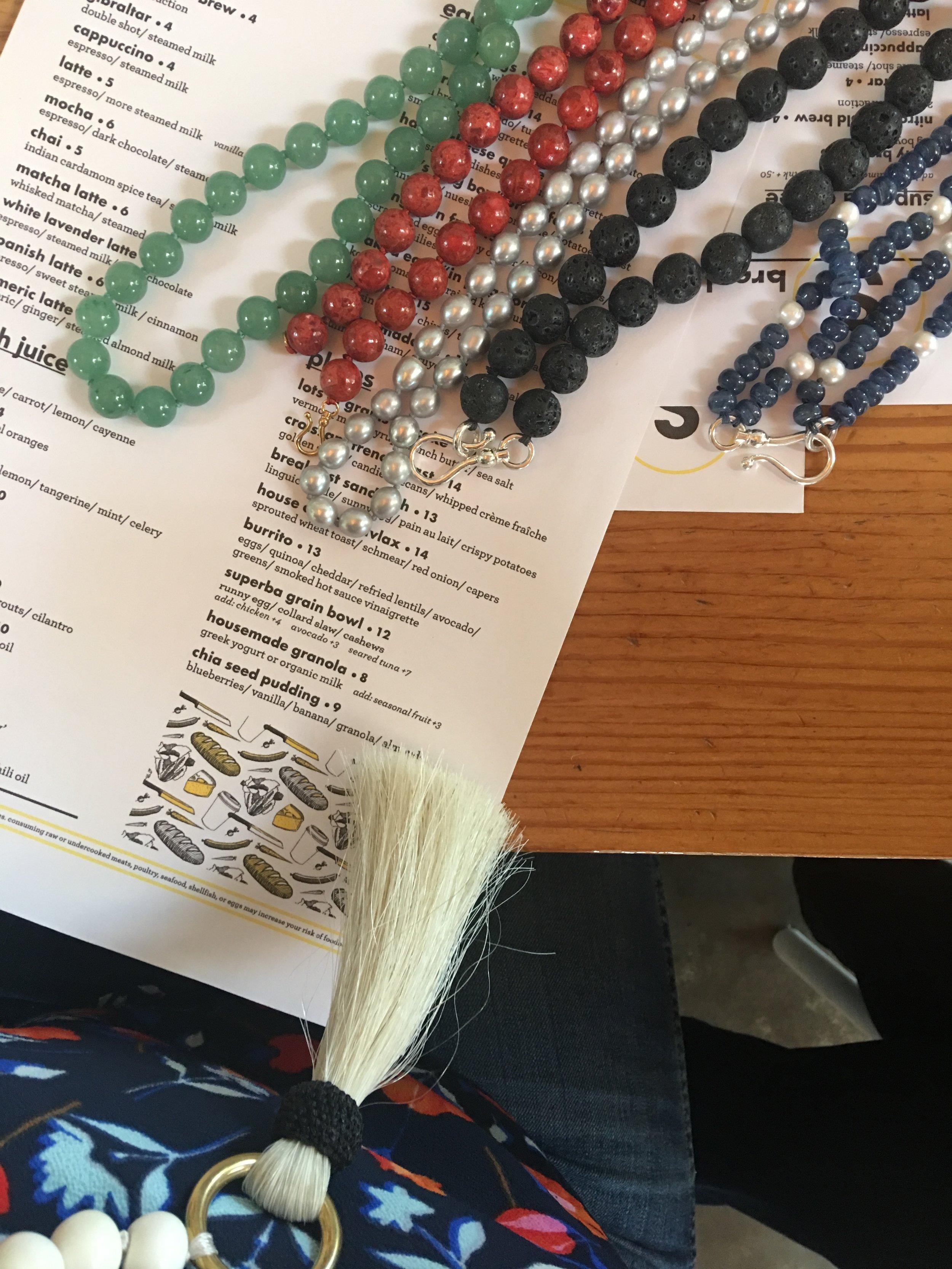 Heidi Carey necklaces