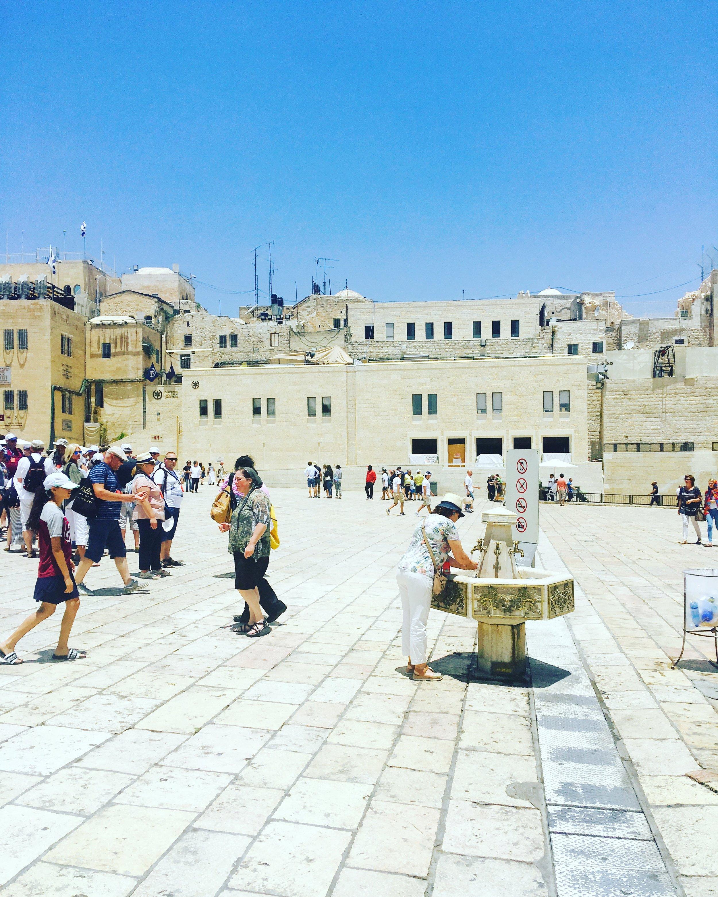 Inside the Old City walls, Jerusalem