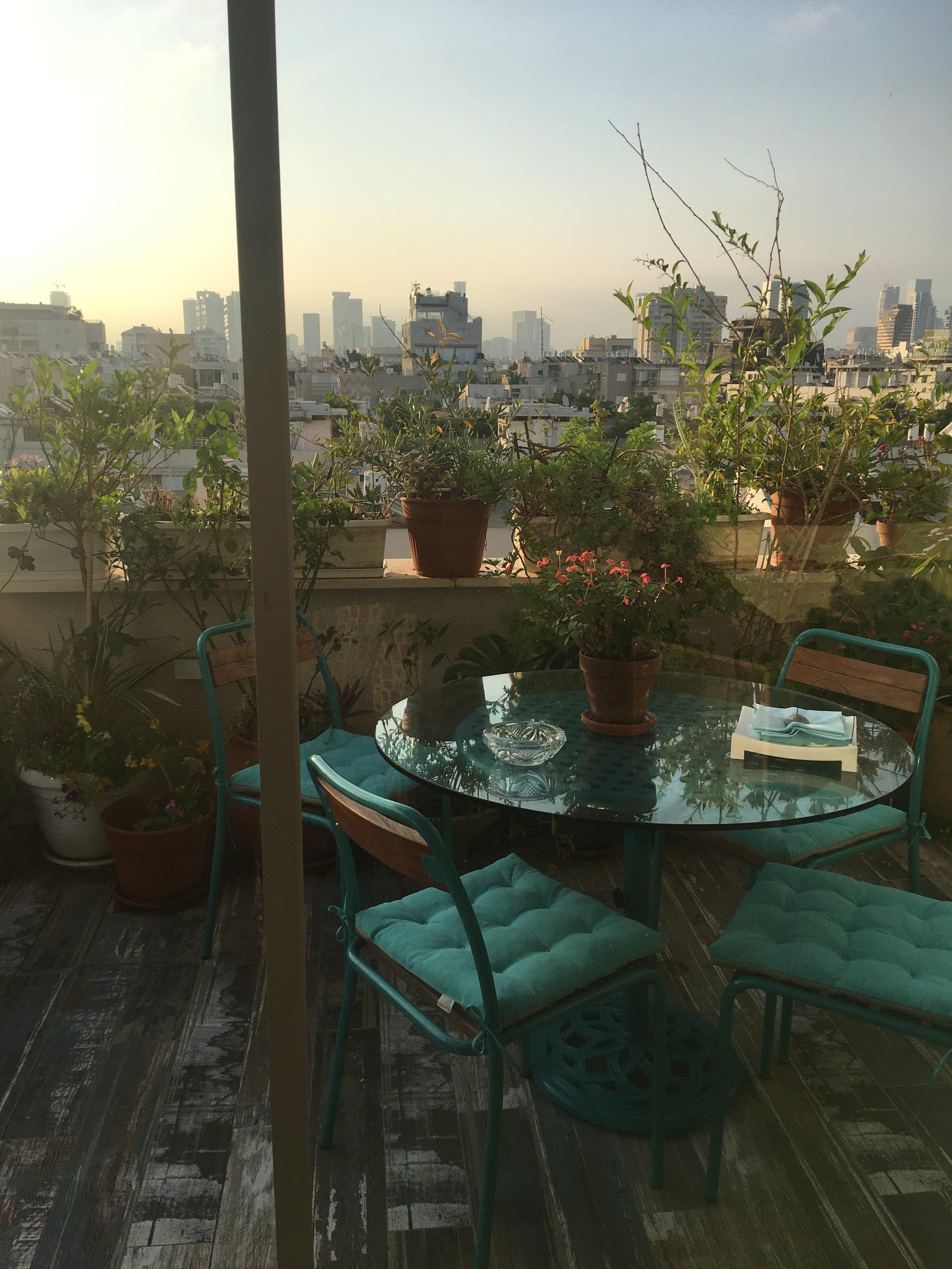 Balcony view, Tel Aviv
