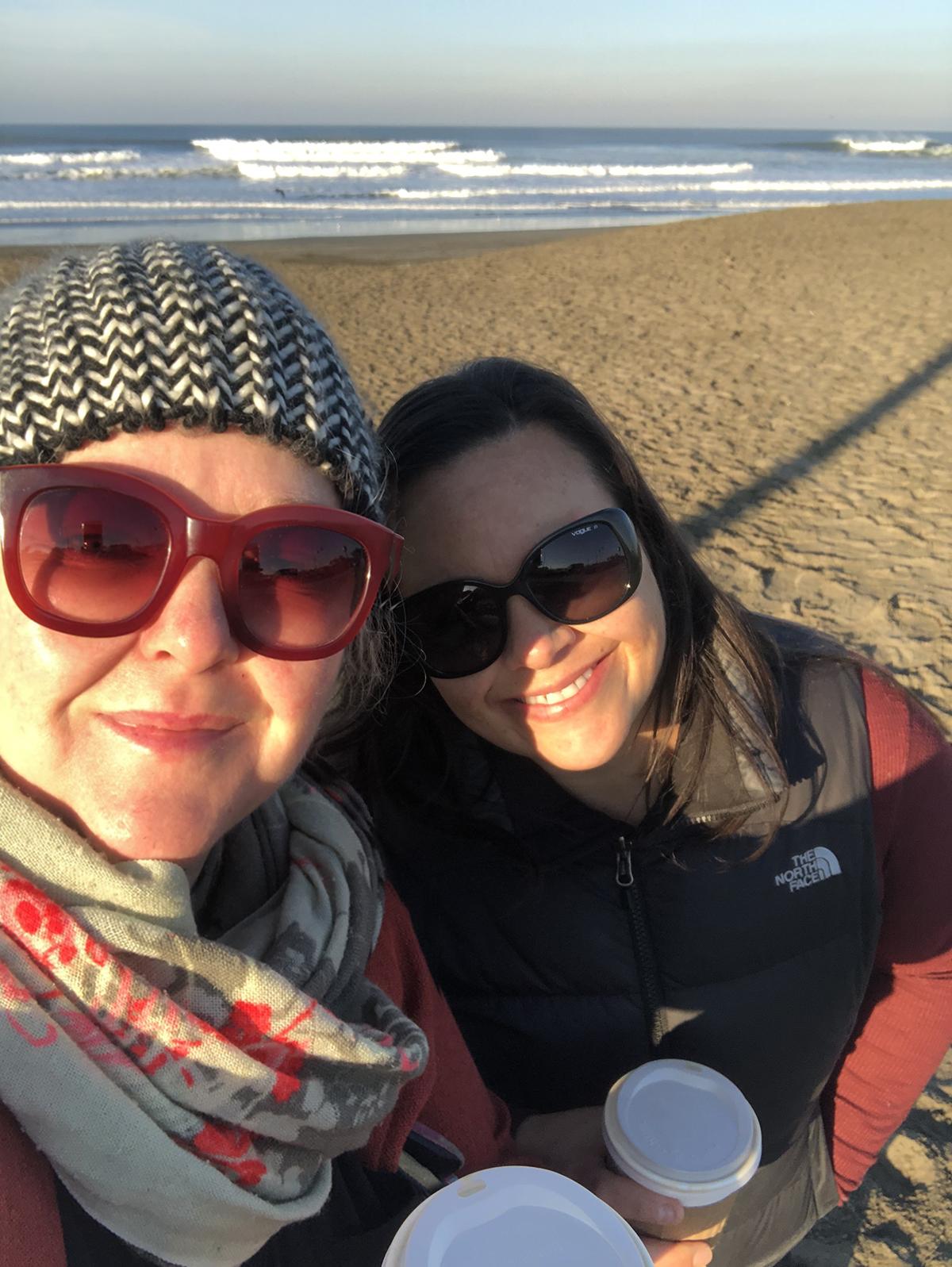 Julia and DeeDee in San Francisco