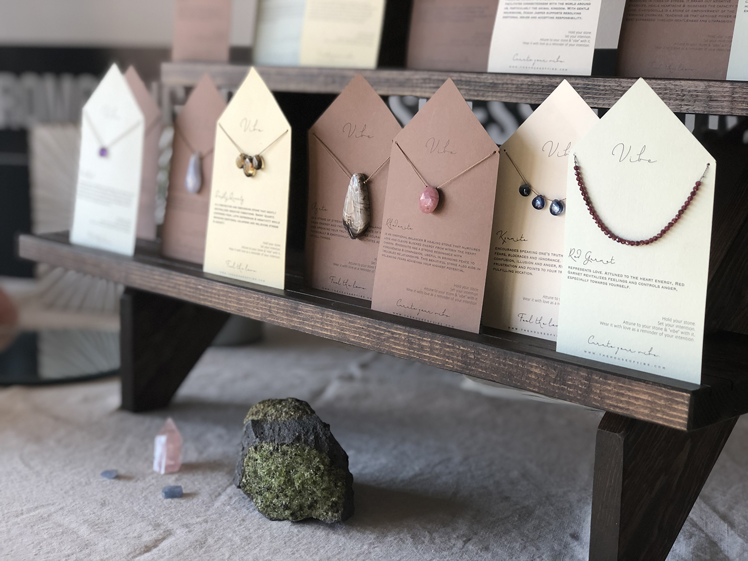 Vibe Jewelry at Hunt & Gather