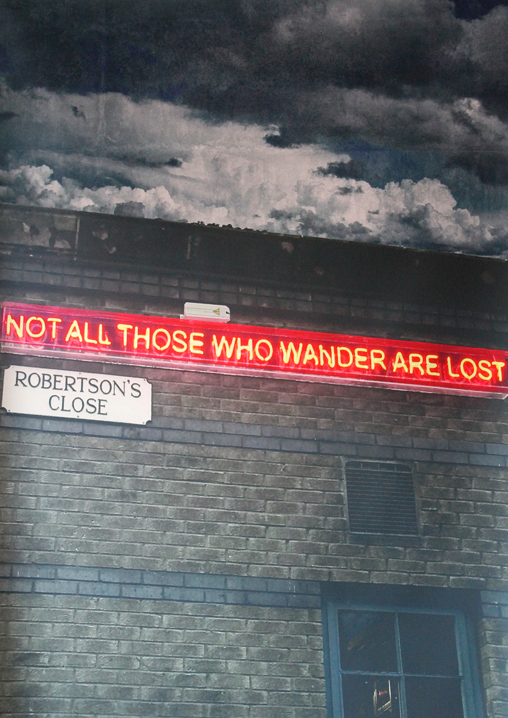 Artwork by Julia Gomelsky, Not All Those Who Wander are Lost
