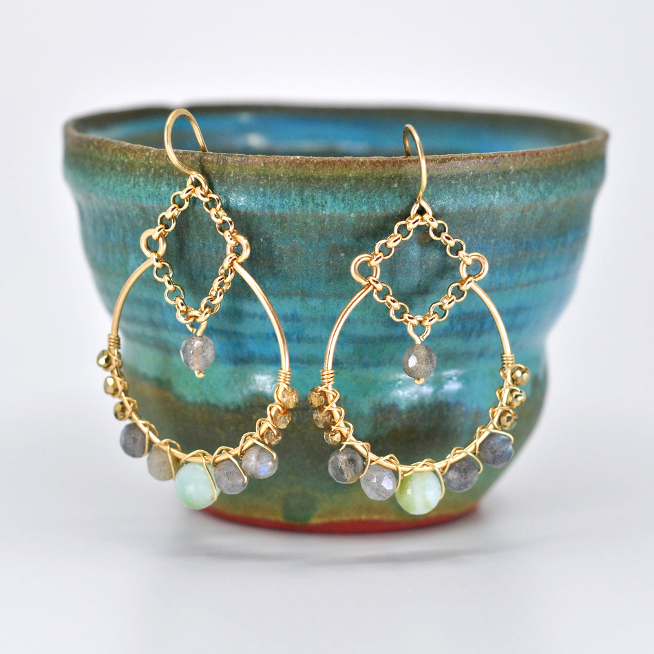 - Sexy, statement earrings are always in! Learn to make your own in this class while exploring multiple wire techniques including metal forming, work hardening, and wire weaving.Click here to register online.Call us at 512-963-2323 to register by phone.