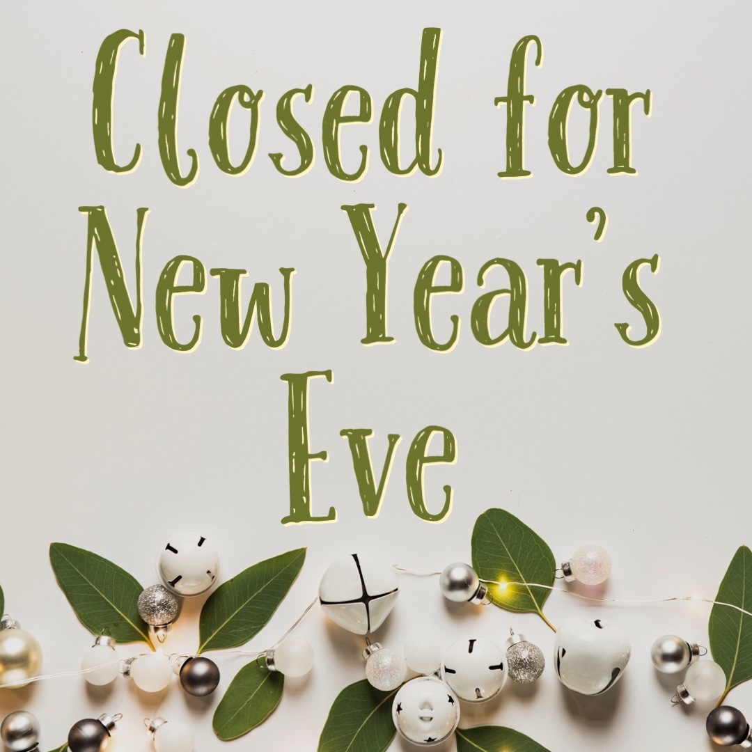 - Happy holidays to all our beading friends! We are closed Dec. 31st through Jan. 2nd.We will resume regular hours on Jan 3rd.Thanks!