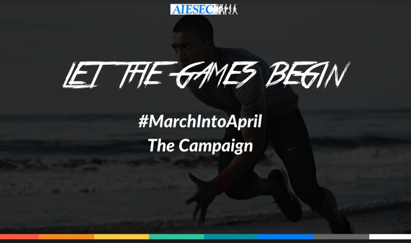 oGV #MarchIntoApril