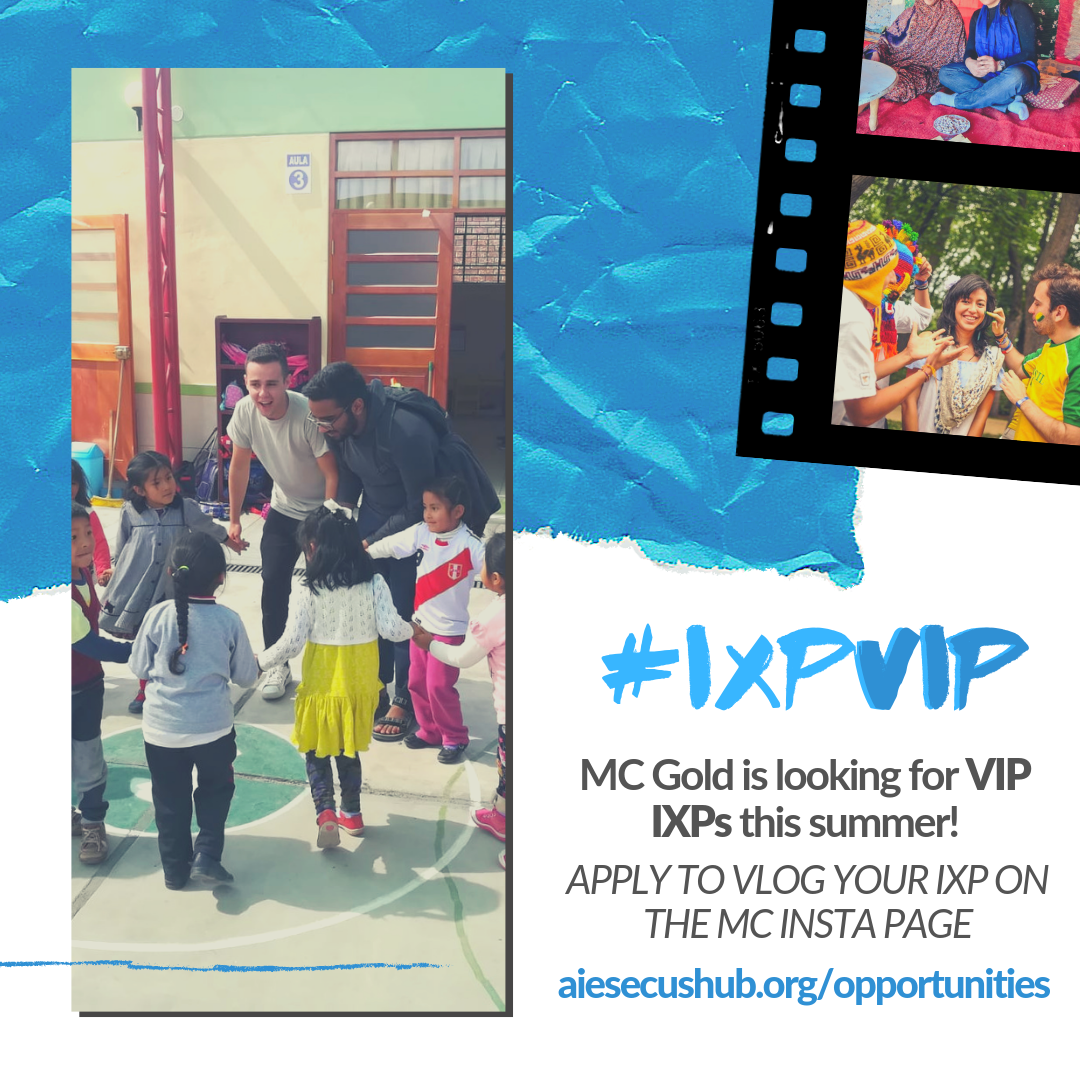 Apply to be a #IXPVIP - Share your experience on the MC Instagram!