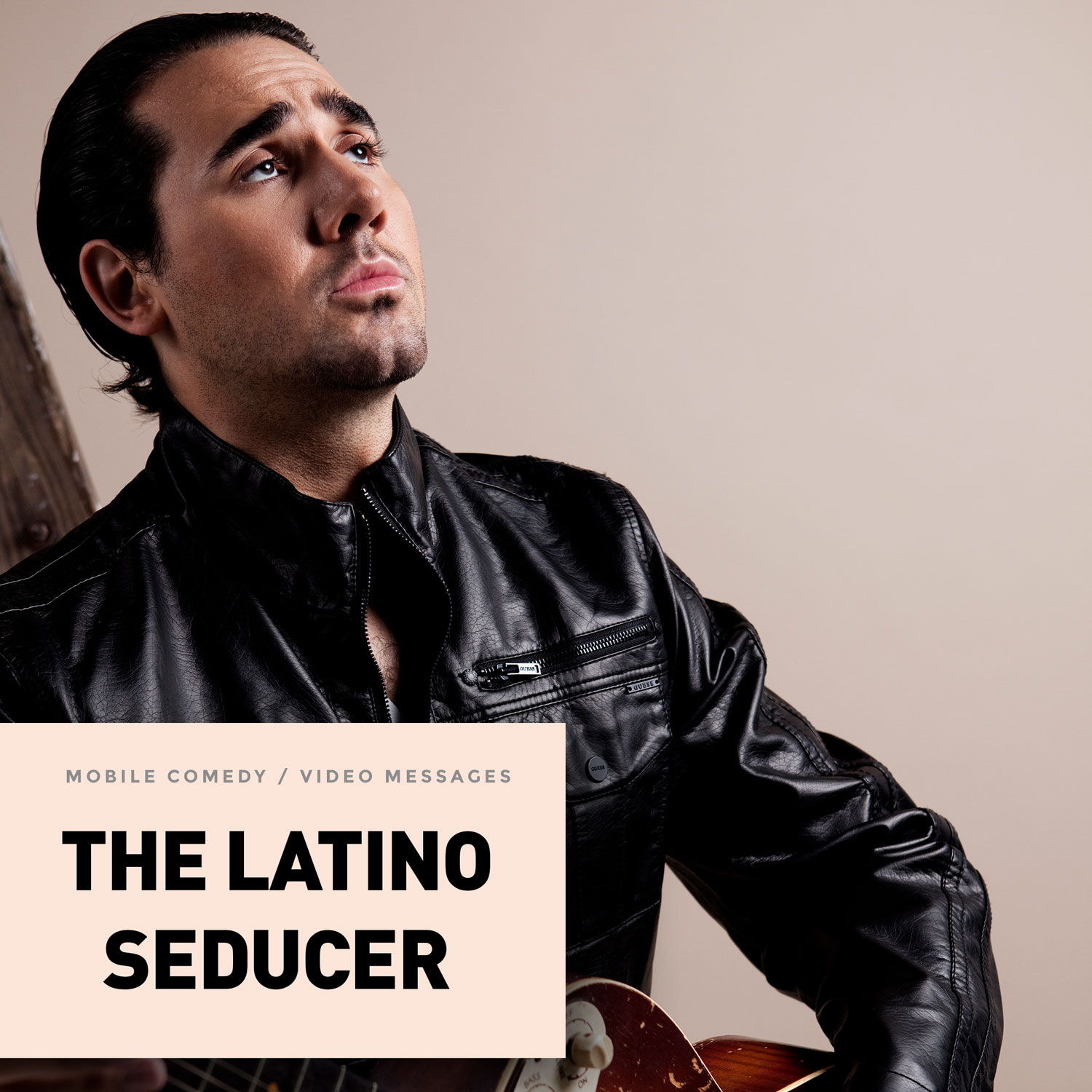 Seduce women, tell stories, and give advice with Carlos, from the HEY! video eCard Latino Seducer collection. A masculine Latino, CARLOS is a fan of silk shirts that show off his chest and enjoys compliments on his mustache. His accent is thick and sincere.