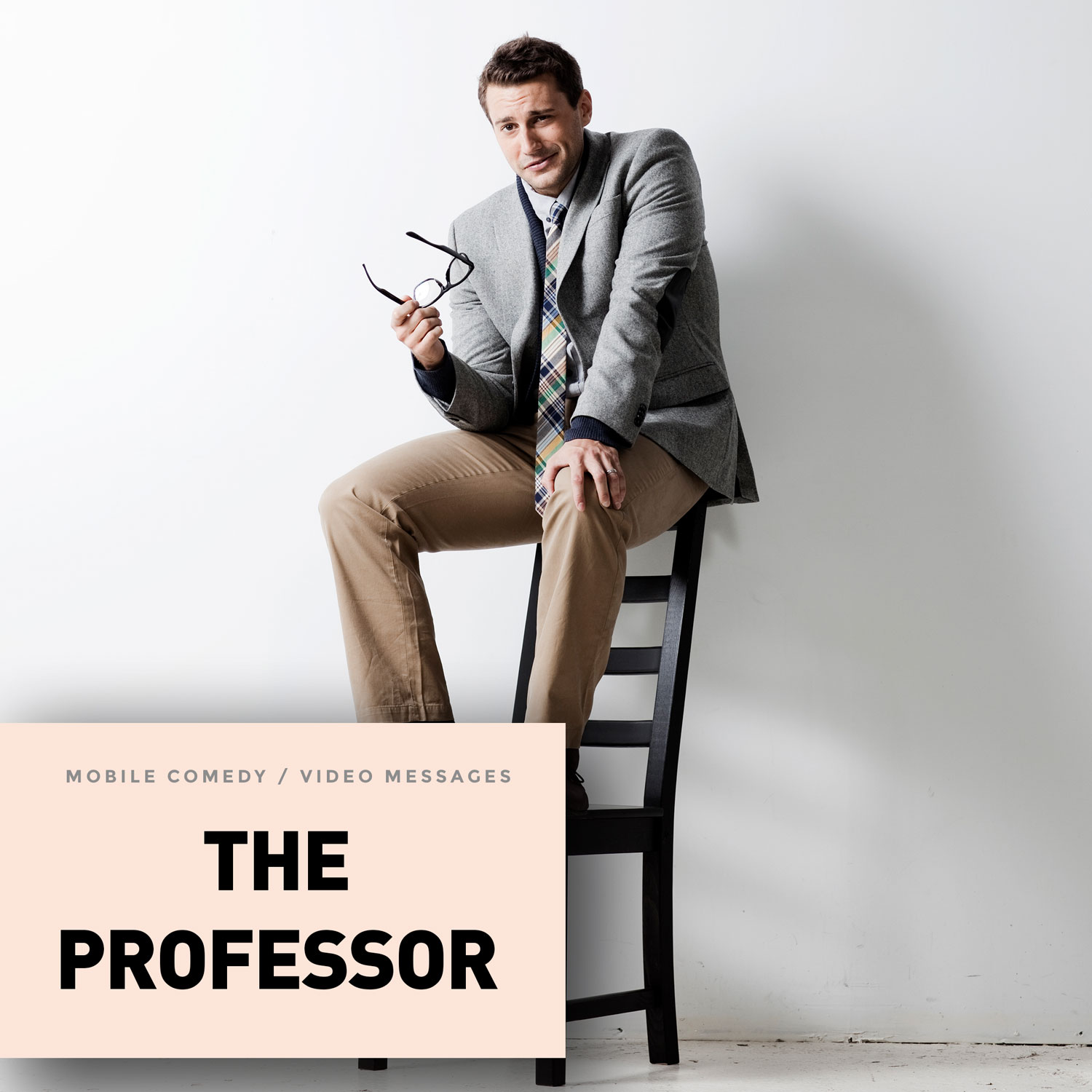 Start sending college professor vNotes to friends today with Professor Hayes from the HEY! Video eCard Professor collection. He is an erudite college professor in his 30s who talks with the calmness and seriousness of a tenured, veteran educator. He wears a tweed jacket.