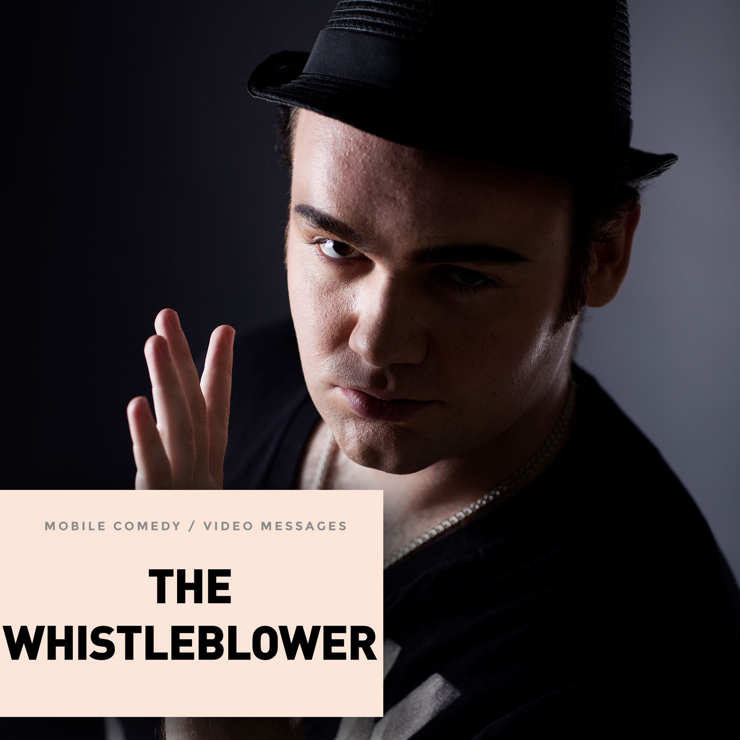 Discover the Whistleblower collection with Jeff, a know-it-all kind of guy who's paranoia is as large as he's convinced his goods are. He believes that power cords will cook him from the inside out if he stands too close to them, and he fired his barber because the guy was trying to kill him.