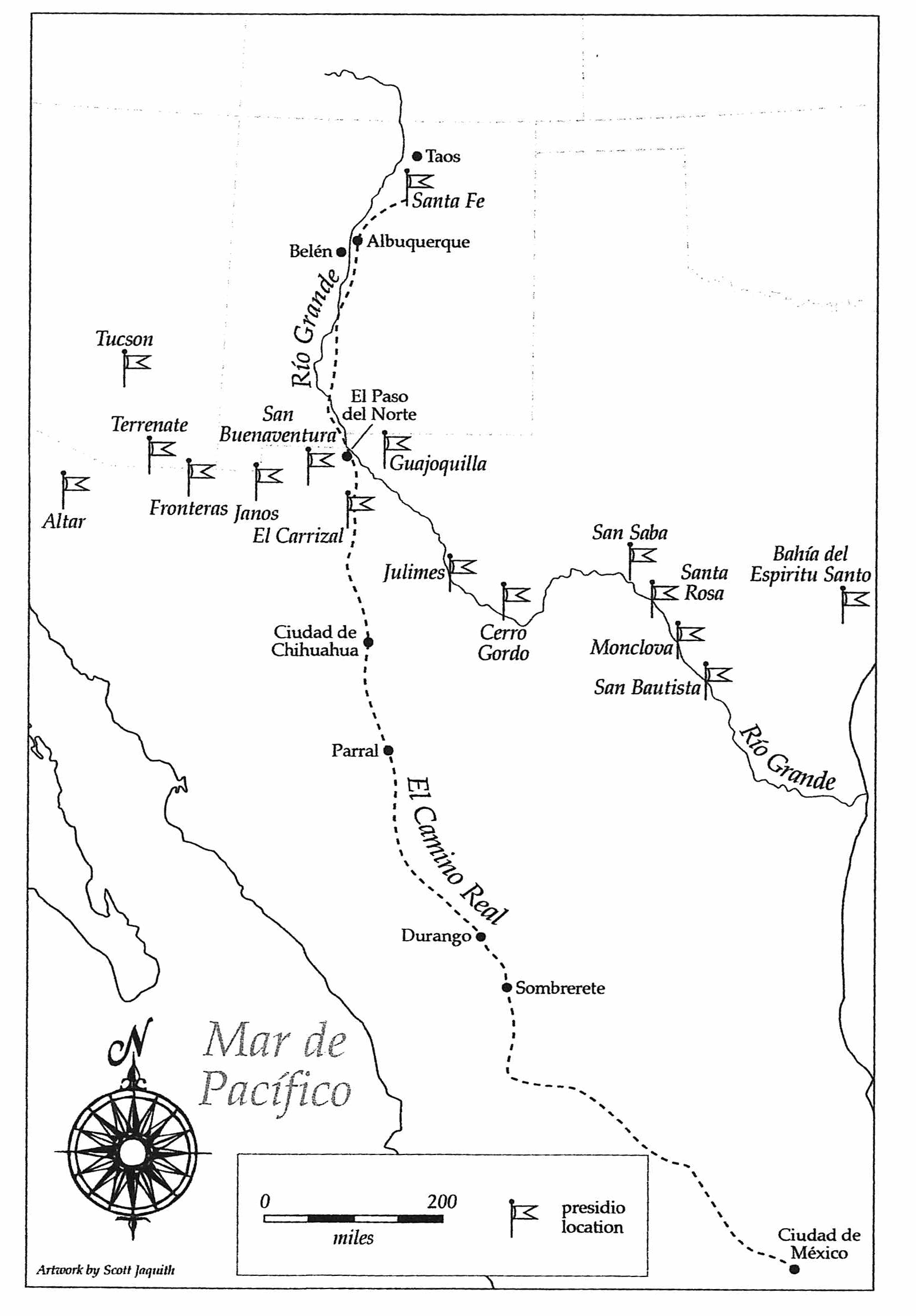 24 - Central New Spain (Map 2)