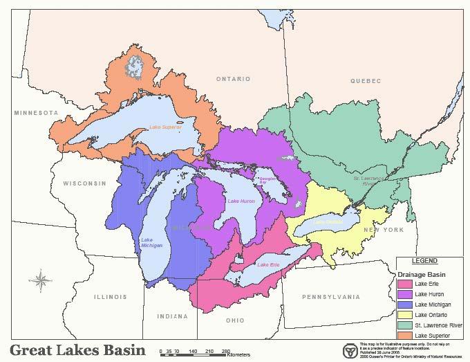The Great Lakes Basin