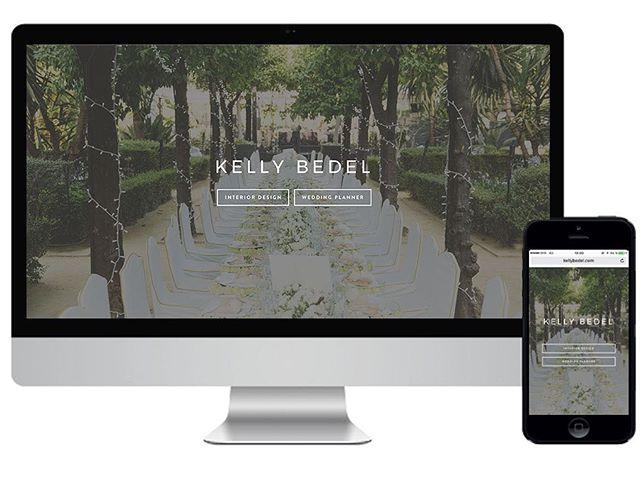 Site internet en ligne www.kellybedel.com 🤓 @lagencecrea 👏🏻