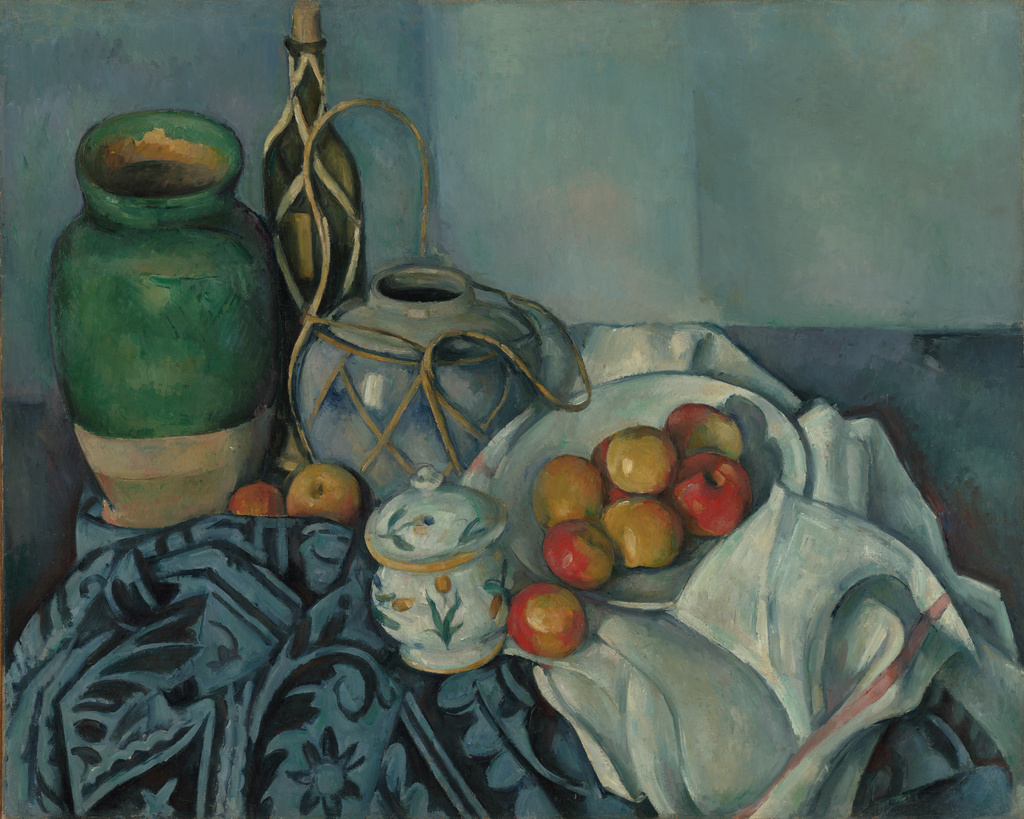 Still Life with Apples  by Paul Cezanne. Image Courtesy of the Getty's Open Content Program.