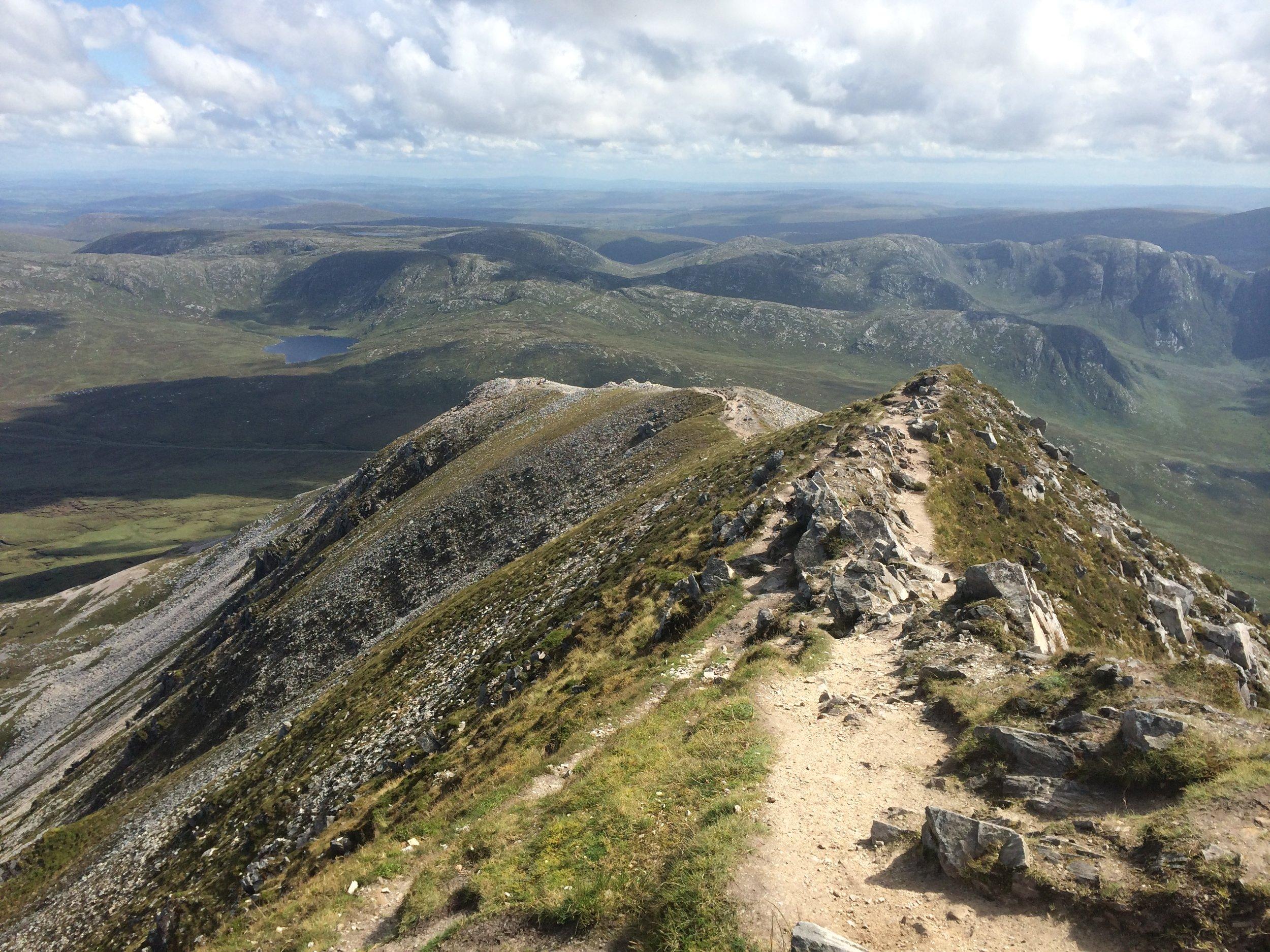 Mt Errigal, Ireland - 2014