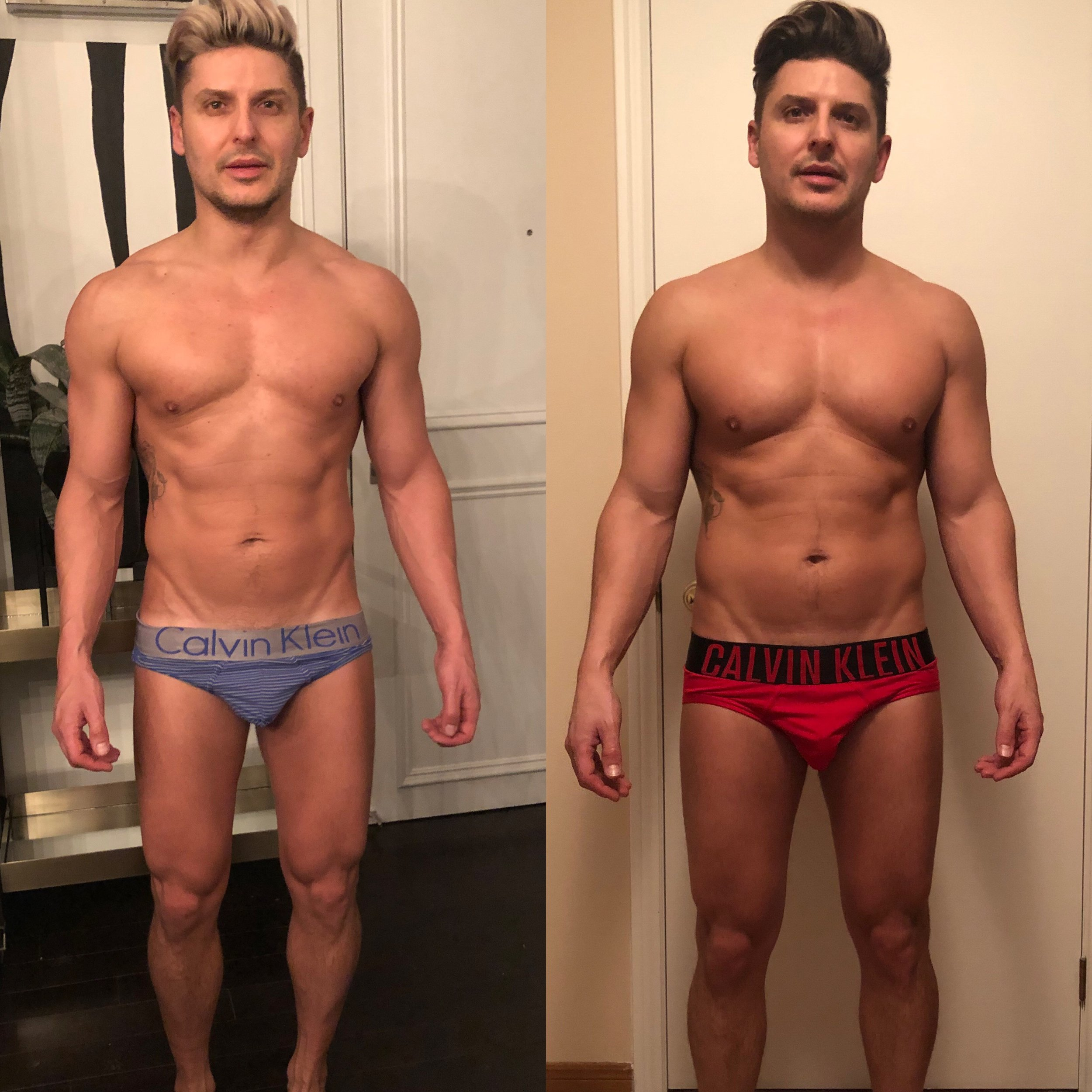 Johnny Wigs - 12 Weeks, 12lbs Down, 10% BF Down