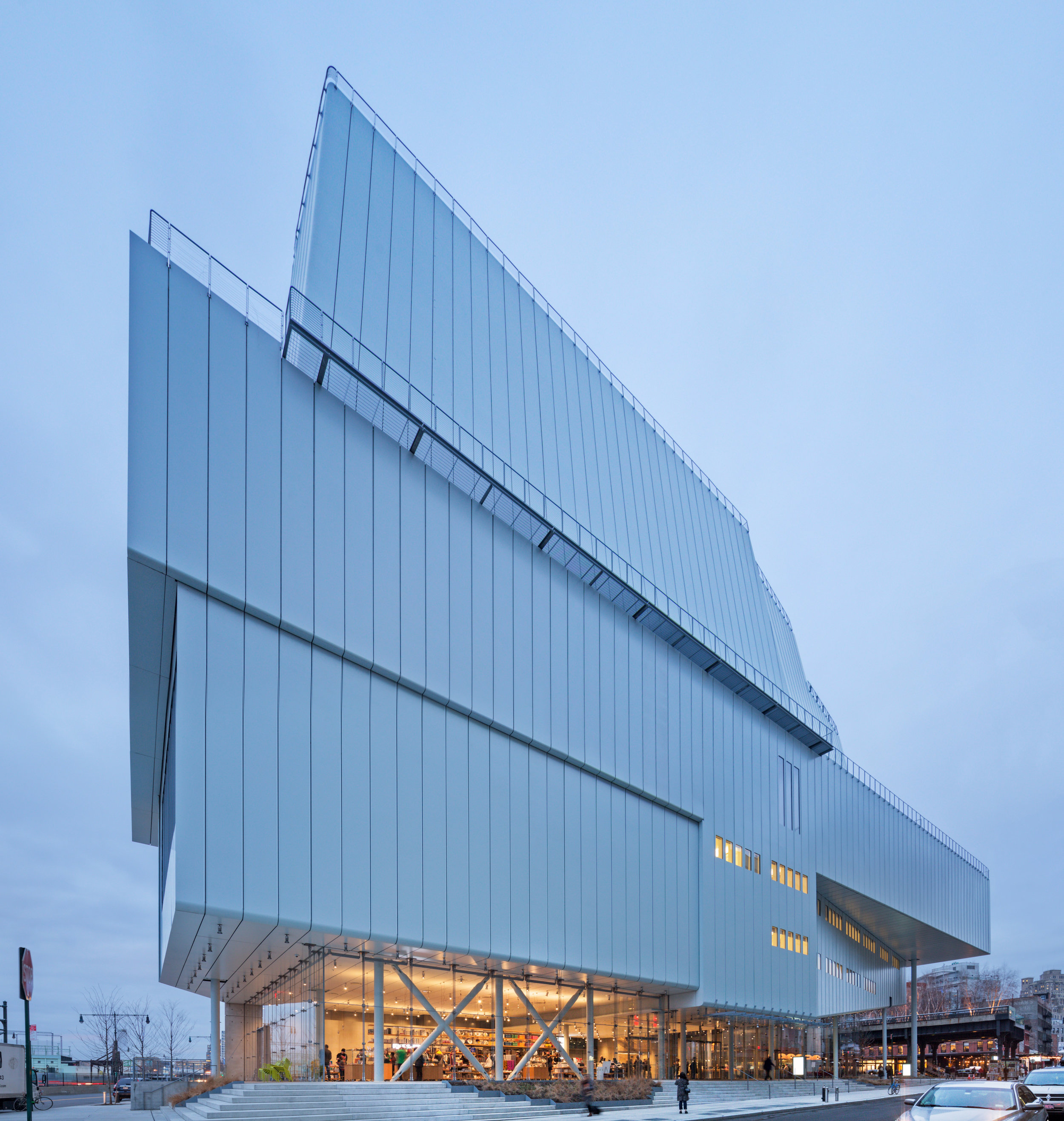 Whitney Museum  Restaurants and Bookstore  Bentel & Bentel