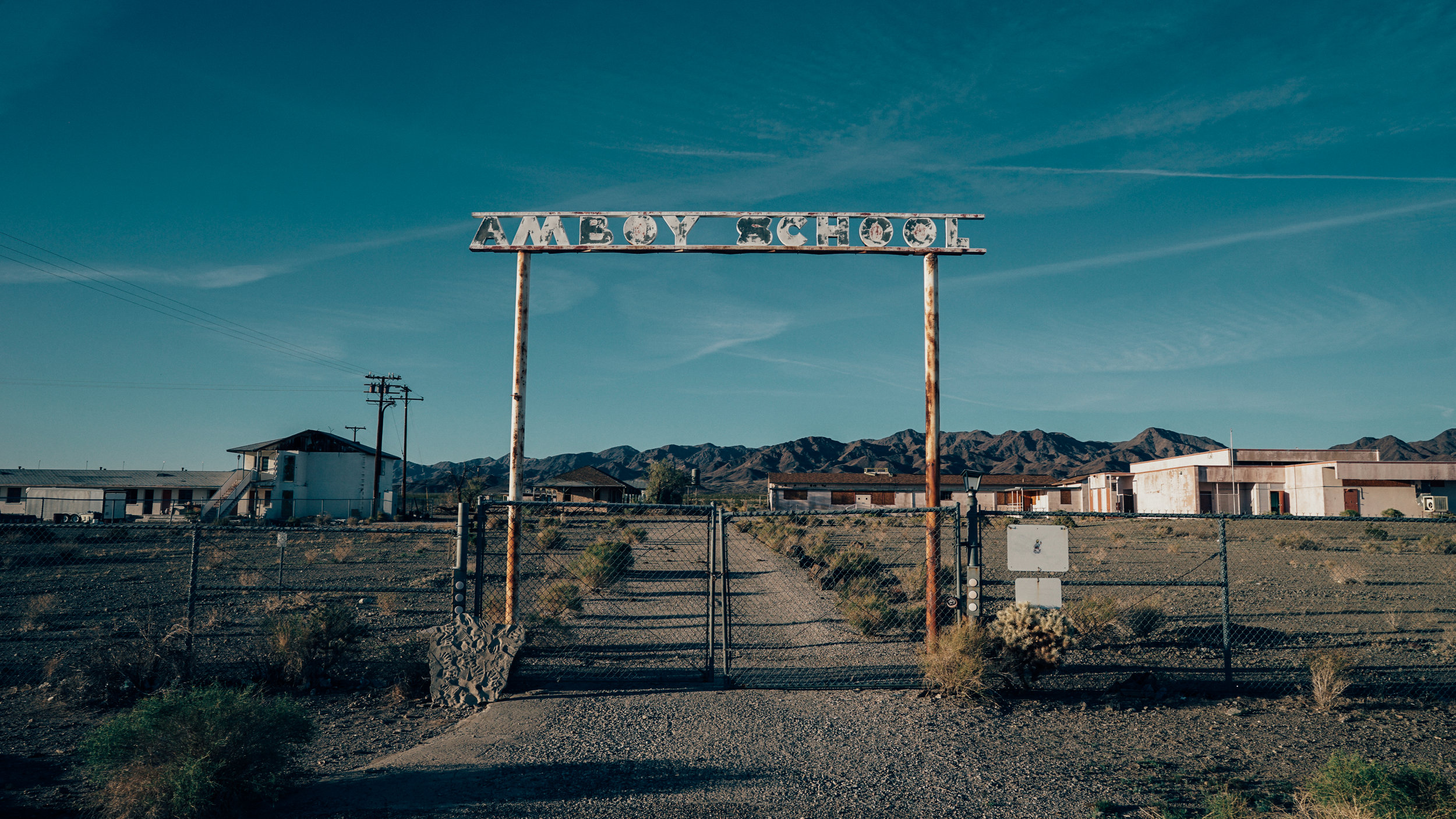 Amboy Route 66 Ruins | Hungry Eye Journal