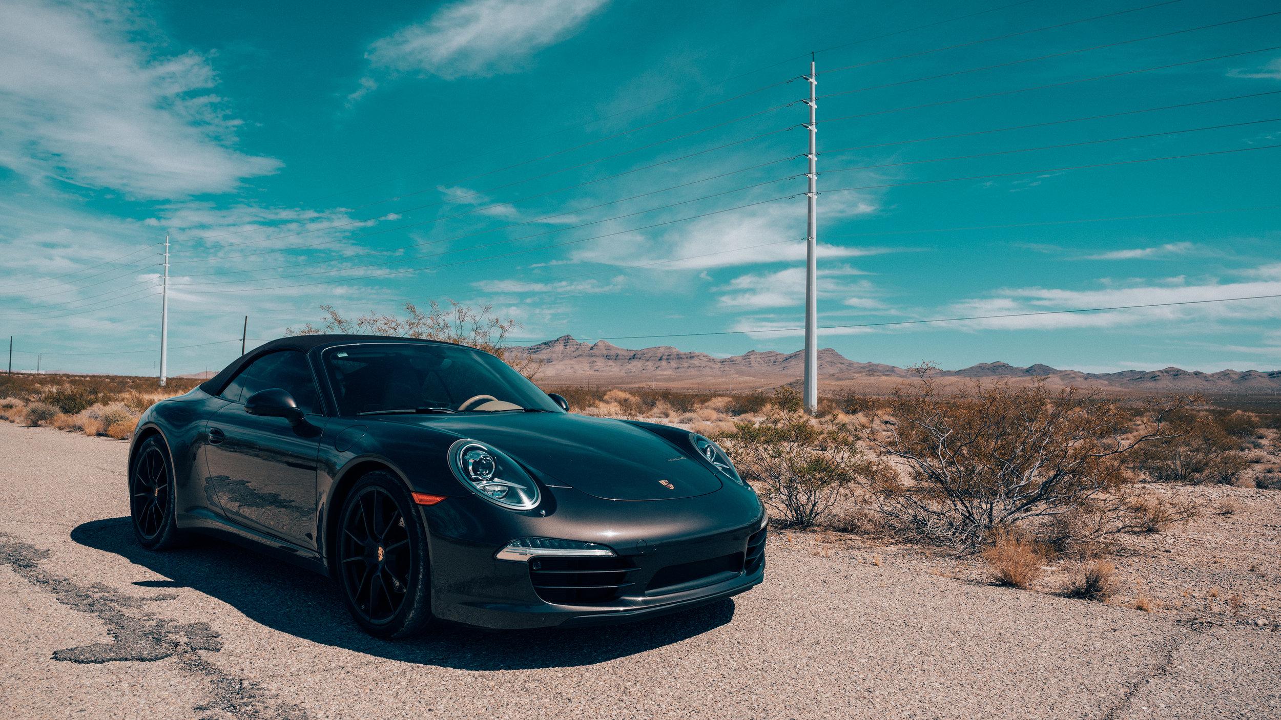 Porsche 911 Carrera | Mojave Desert | Zeiss Lenses