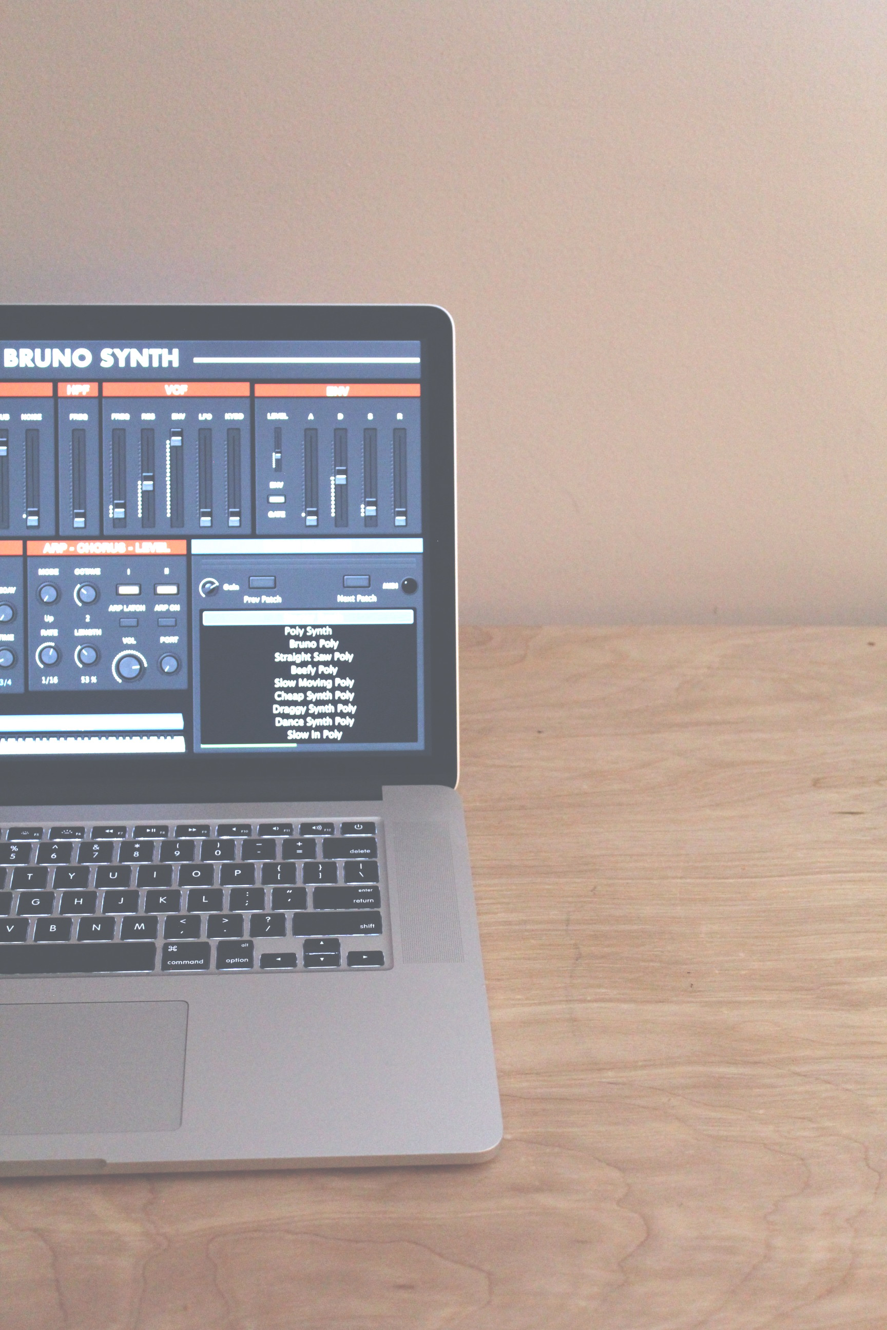 Bruno Synth — Patch Foundry