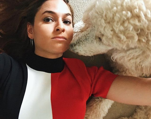 Happy National Puppy Day from me and another white bitch trying to unlearn her privilege 👯♀️