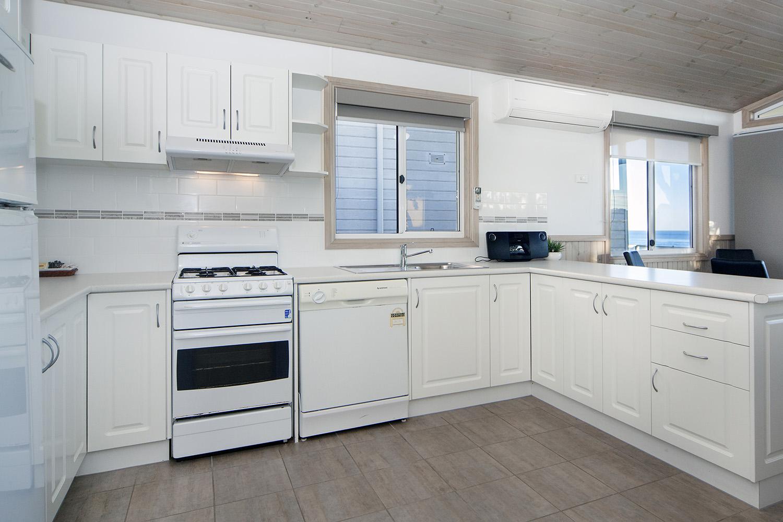 Oceanfront Deluxe, Chalet 17 kitchen.jpg