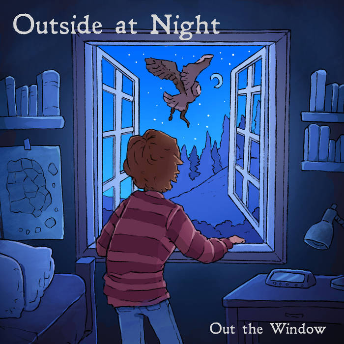 Outside At Night - Out The Window LP