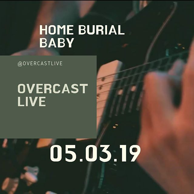 @overcastlive has been a couple of months in the works.  This afternoon our first session drops with @homeburialbaby and we are beyond excited.  Head over to the website and check out the live sessions page to learn more. Oh, and you should follow @overcastlive while you're here.  #thanksloveyou