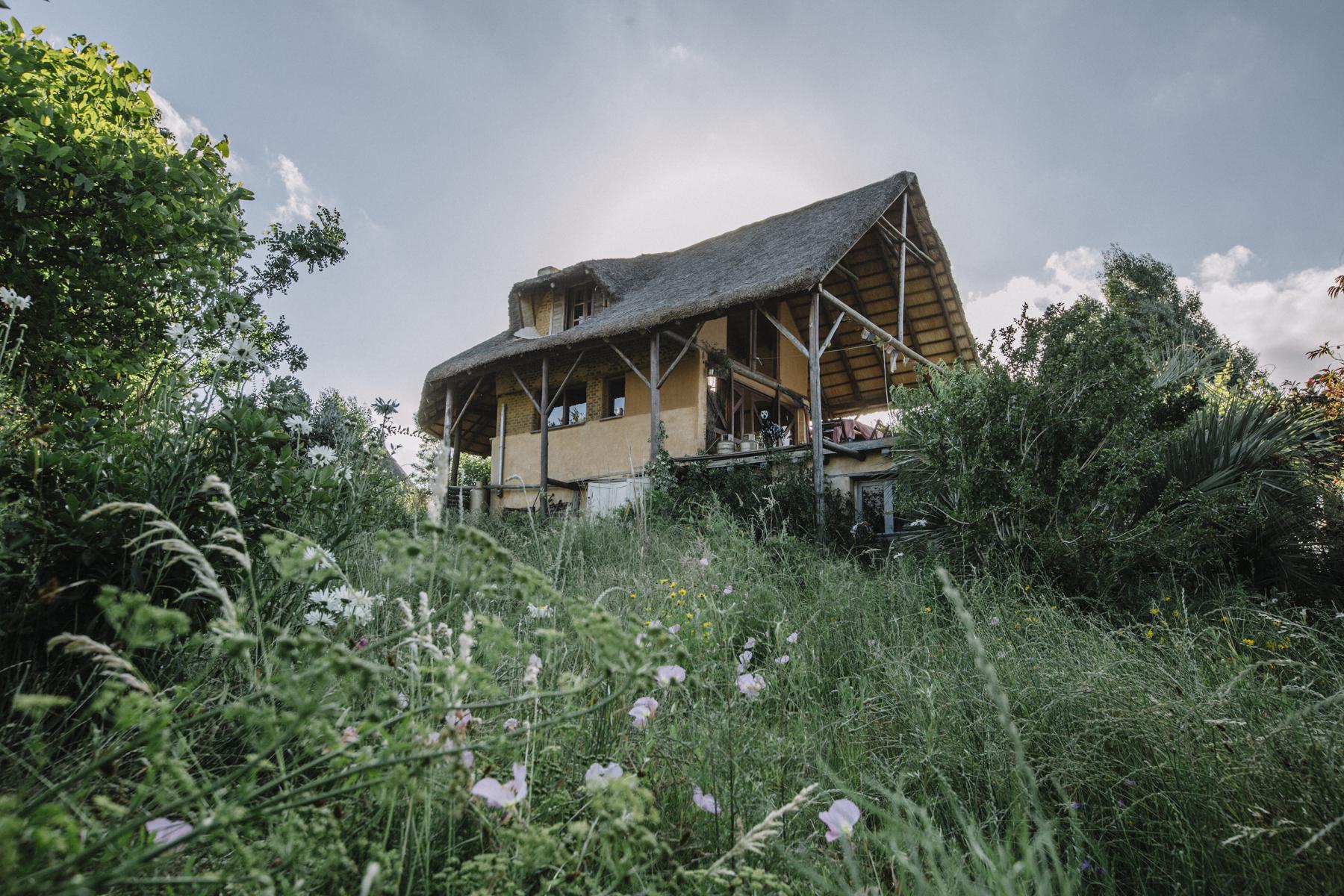 Our littel house in the Sierras of Rocha