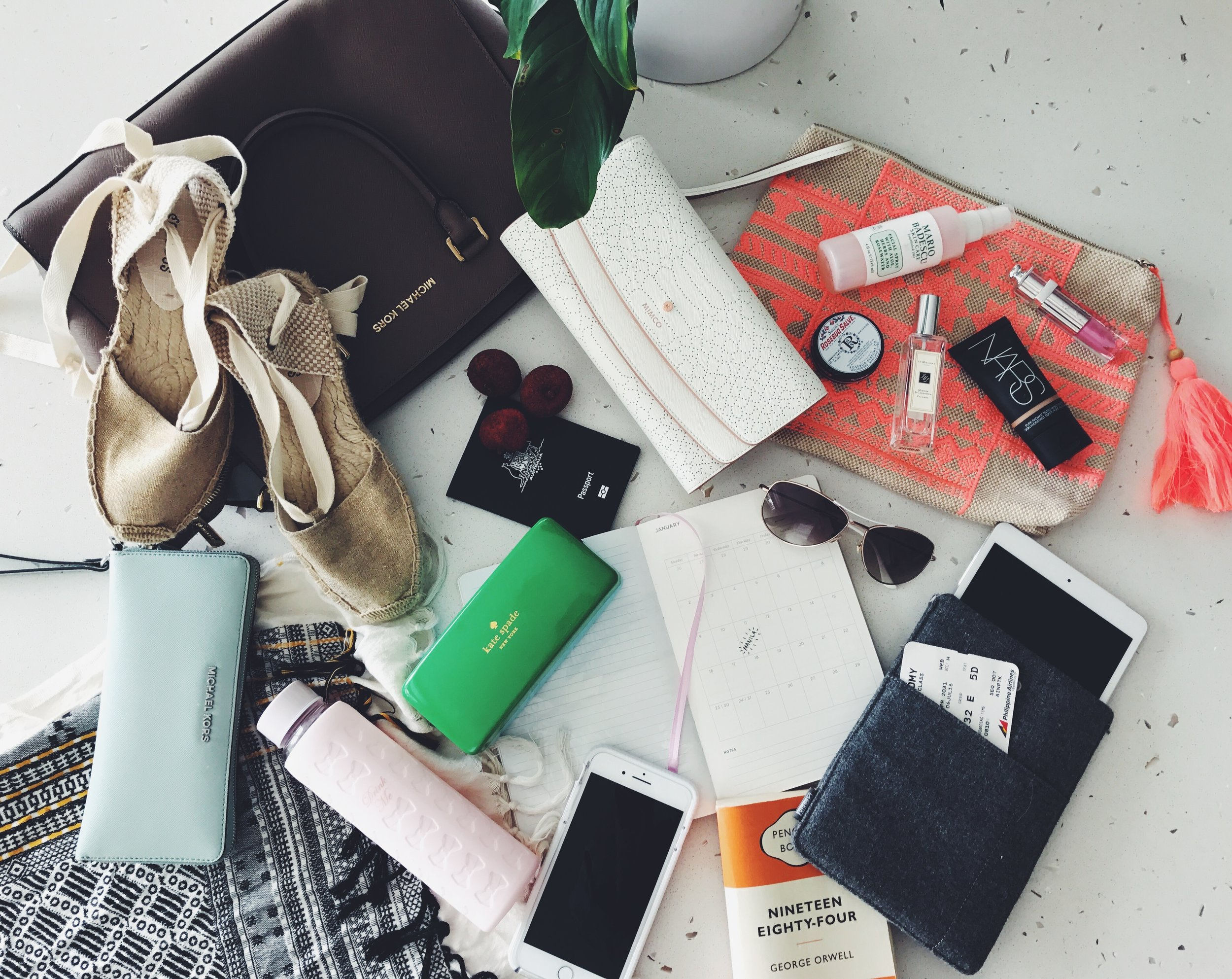 Yes -a collection of perfectly constructed pretty stuff that can also be quite useful both in flight and in travel.