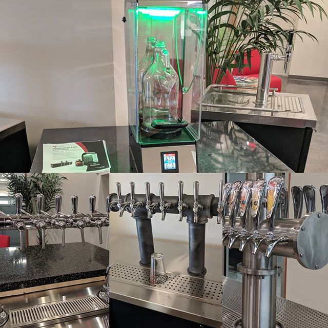 We spent the week with @micromaticus in California. Today we add another technician to our organization. We look forward to servicing your draft beer needs. Also, we offer wine, coffee and mixed beverages on tap as well. Call or email us today. See our bio for info.