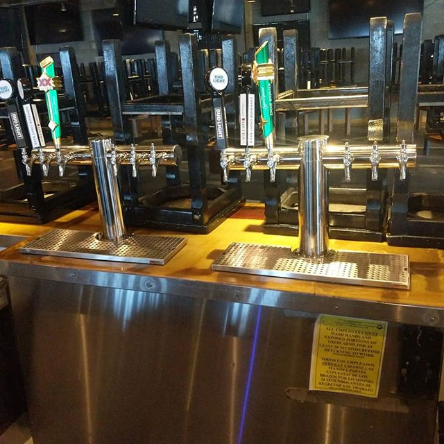 @ojoslocoselpaso Received an upgrade to two @micromaticus Metropolis 6 faucet towers. #aegir #aegirdraft #draftsolutions #draftbeer #micromaticusa #everythingontap #liquiddispense #dispense #ontap