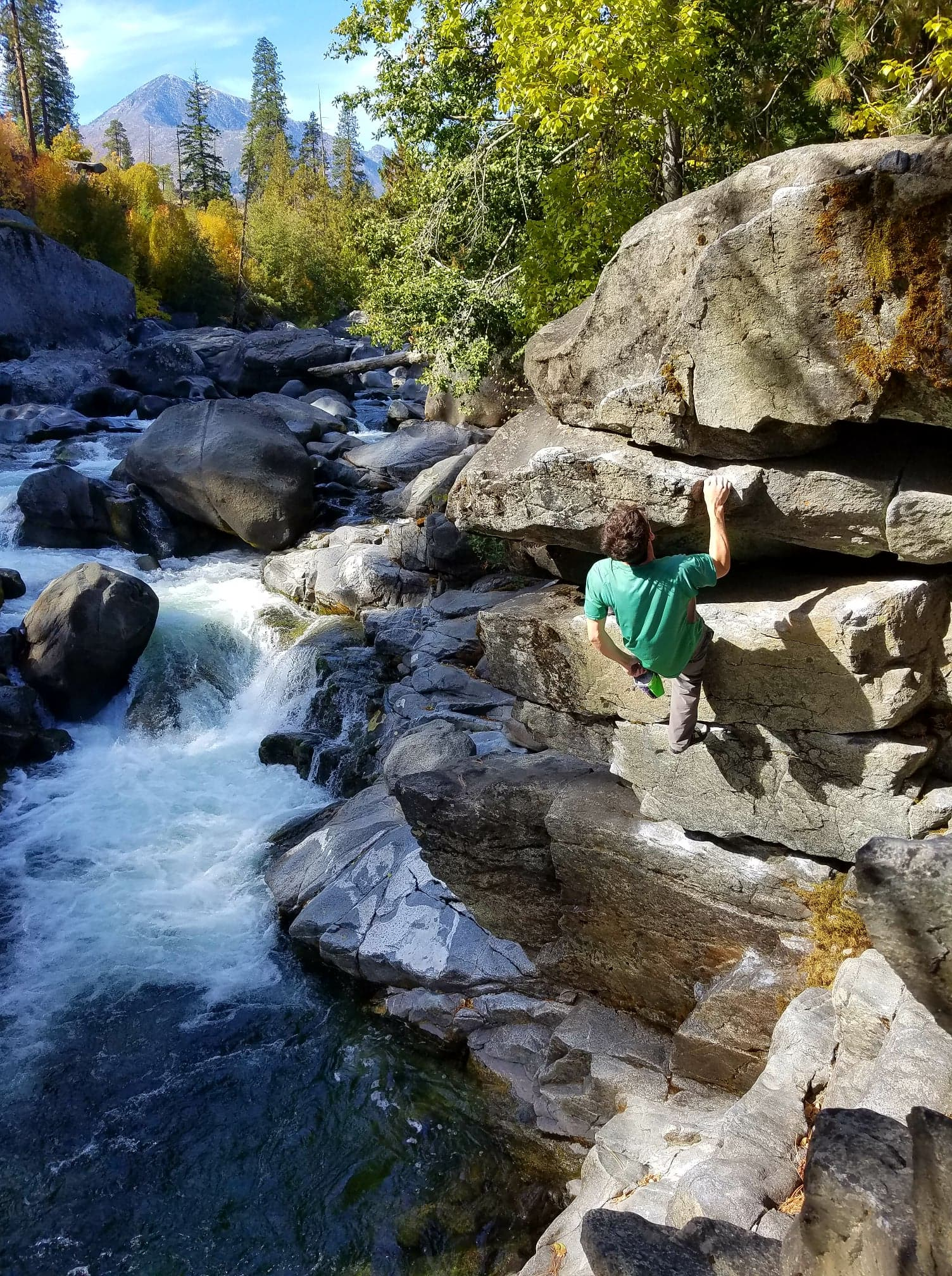 Icicle Canyon Bouldering
